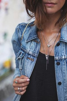 always need a denim jacket!