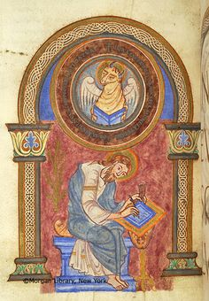 Gospel Book, MS M.862 fol. 91v - Images from Medieval and Renaissance Manuscripts - The Morgan Library & Museum