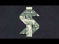 Money Origami DOLLAR SIGN
