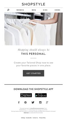 Best Personalized Emails Images On Pinterest Email Design - Personalized email templates