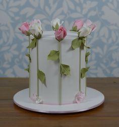 Roses cake ! Bolo rosas
