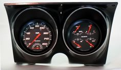 classic instruments 67 68 camaro gauge dash cluster