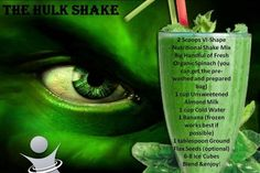 Body By Vi Hulk Shake Recipe