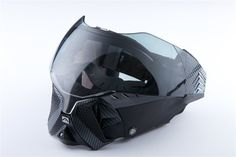 If this was made from Kevlar and impact resistant protective glasses I could see a tactical application for this