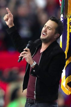 Super Bowl: Luke Bryan Is as Charming as Ever During the National Anthem