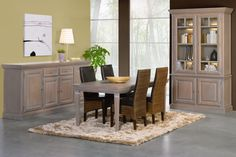 Lutz Dining Room Set with Sideboard and China Cabinet, available in 4 colors  https://www.facebook.com/FURNITURE4MILITARY.GERMANY