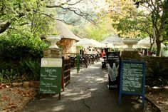 Enjoy a delicious lunch or indulge in a scrumptious tea at the popular Rhodes Memorial Restaurant.