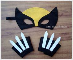 Kit Wolverine | Ateliê Fuxicos de Menina | 3509AF - Elo7