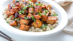 A quick way to enjoy quinoa. This dish makes a great midweek meal when you need to cook up something deliciously sweet & spicy,…