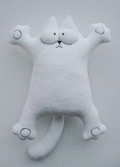 Moldes y paso a paso para hacer un muñeco gato   Aprender manualidades es facilisimo.com
