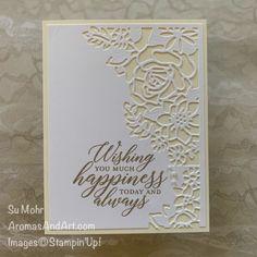 Easy To Make Wedding Card - Aromas and Art Homemade Wedding Cards, Simple Wedding Cards, Wedding Cards Handmade, Homemade Cards, Wedding Anniversary Cards, Year Anniversary Gifts, Homemade Anniversary Cards, Anniversary Ideas, Die Cut Cards