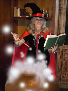 A poção mágica, da bruxa do bem - kkkk.