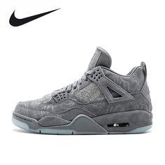 more photos e1008 07de7 Nike KAWS x Air Jordan 4 Cool Grey Men s. Jordan 4Zapatillas De ...