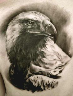 50 Amazing Perfectly Place Eagle Tattoos Designs With Meaning - Beautiful eagle face tattoos - Tattoos 3d, Daddy Tattoos, Baby Name Tattoos, Animal Tattoos, Body Art Tattoos, Tatoos, Eagle Head Tattoo, Small Eagle Tattoo, Eagle Tattoos
