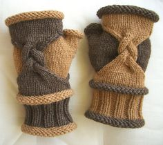 Ideas For Knitting Patterns Mittens Fingerless Mitts Crafts Fingerless Gloves Knitted, Crochet Gloves, Knit Mittens, Knit Crochet, Knitting Stitches, Baby Knitting, Knitting Patterns, Knitting Ideas, Knitting Projects