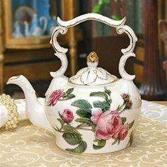 Mystic Rose Teapot