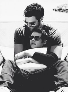 It's like they are forcing me to ship Sterek.. Tyler Hoechlin and Dylan O'Brien