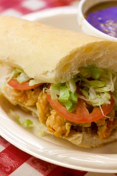new orleans po boy   what to see and eat in new orleans   #sandwich #bread #travel