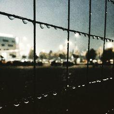 #drops #malpensa #cage #autumn2015 #rainyday #raindrops