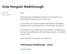 Club Penguin Walkthrough, Guides, Tips, Cheats, Codes  http://topgamesecrets.com  #Club_Penguin_Walkthrough #Club_Penguin_Missions