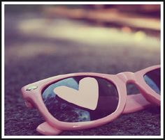 Life through rose-colored glasses