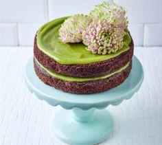 Vegan-friendly avo cake.