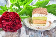 Ciasto z czerwonego i zielonego kubusia