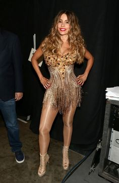 Sofia Vergara The 58th GRAMMY Awards – Backstage and Audience #SofiaVergara #The58thGRAMMYAwards