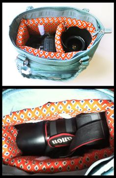 Ramblings From Utopia: DIY: Camera Bag Purse