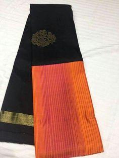 Indian Silk Sarees, Pure Silk Sarees, Indian Beauty Saree, Cotton Saree, Kanjivaram Sarees, Kanchipuram Saree, Ethnic Fashion, Indian Fashion, Simple Sarees