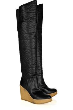 STELLA MCCARTNEY  Palmero faux leather over-the-knee boots