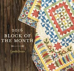Course   Kit 2016 Block of the Month Kit: Garden Charm