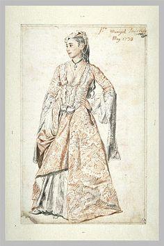 Portrait of Madame Marigot in Smyrna by Liotard