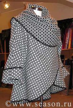 Meu Paraiso: PaP - Casaco redondo em tecido ( Repassando )