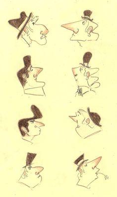Big Noses by marlenakate.deviantart.com