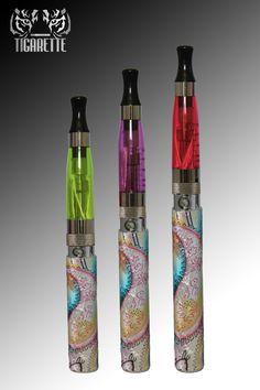 Customizable Vaporizer 650mAh (Black), electronic cigarette, e cig, ego ce4, ego ce5, ego ce6, ego e cig - Tigarette.com