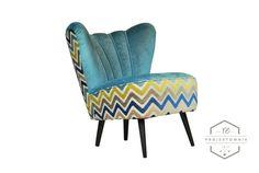 Fotel klubowy Turquoise DIsco - Klaudia-Strozynska - Fotele