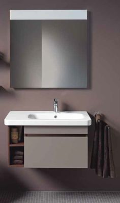 Мебель для ванной комнаты Duravit DuraStyle DS-6393-18 80см белая матовая