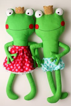 The frog princess Custom listing by blita on Etsy