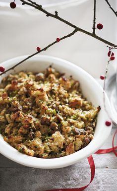 Chestnut and porcini mushroom stuffing – a flavoursome recipe using torn  ciabatta bread 97f2ac2f4212