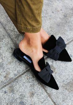 flat bow shoes flats black dior