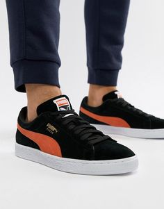 2ddb53063dfba9 Puma Suede sneakers in black 36534738 at asos.com
