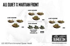 980 Point US Armored Spearhead Save 15%