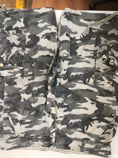 705dca1479a Camouflage Loose Cargo Shorts Men Cool Camo Summer Short Pants Hot Sale  Homme Cargo Shorts Plus Size Brand Clothing