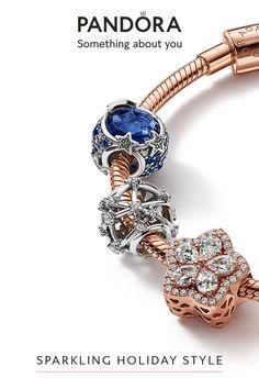 Pandora Bracelets, Pandora Jewelry, Pandora Charms, Blue Charm, Jewelry Gifts, Jewellery, Sparkling Stars, Dark Fashion, Pear Shaped
