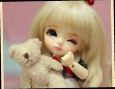 43.50$  Watch here - http://alim8x.worldwells.pw/go.php?t=32719189574 - bjd sd 1/8 latidoll yellow luna blinking yellow line eighth baby doll toy