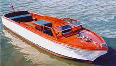 Chris Craft Sportsman Wood Boat