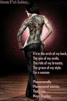 Phenomenal woman... - ex•cerpt from Phenomenal Woman by Maya Angelou