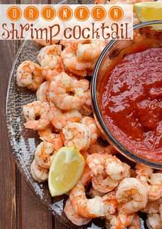 "Drunken Shrimp Cocktails--Ingredients 3 pounds shrimp, any size you prefer, I use large 4 cloves garlic, smashed 3 medium carrots, cleaned and cut into large chunks 4 green onions, whole 1 Cup white wine, chardonnay or pinot grigio 2 tsp garlic powder 1 tsp onion powder 2 Tbls old bay seasoning fresh cracked black pepper [expand title=""Read …"