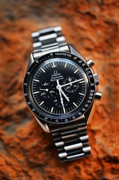 What's On Your Wrist?You can find Omega speedmaster and more on our website.What's On Your W. Dream Watches, Fine Watches, Cool Watches, Rolex Watches, Unique Watches, Rolex Gmt, Speedmaster Professional, Luxury Watches For Men, Beautiful Watches